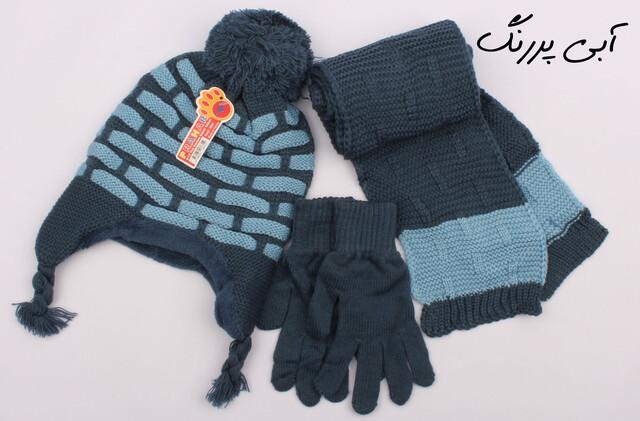 ست کلاه و شال گردن و دستکش(8-5 سال)