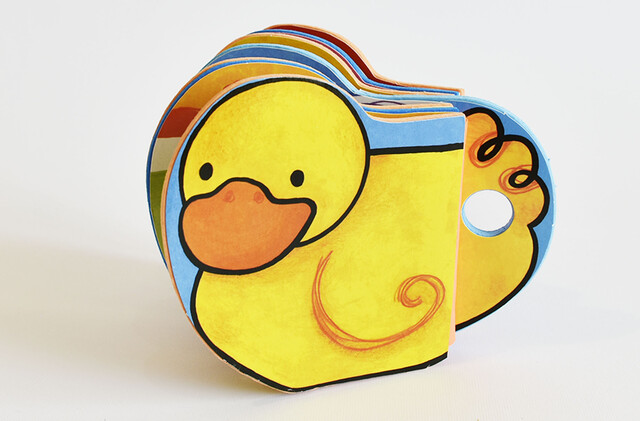 کتاب فومی ( شالاپ شلوپ یه اردک)