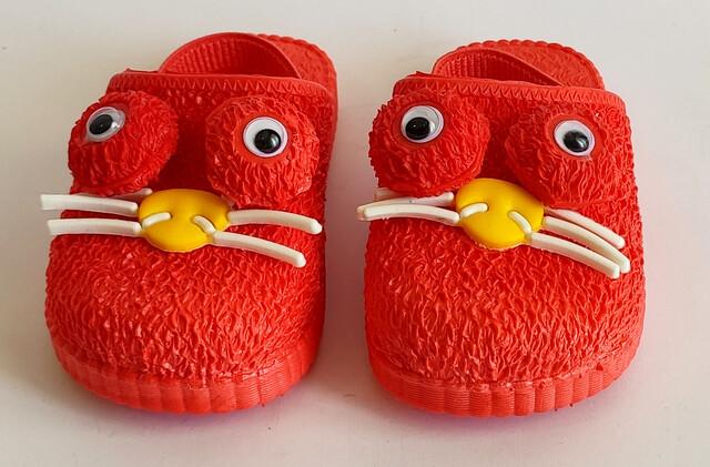 دمپایی جلوبسته پنگول ( قرمز)