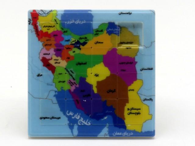 پازل کشویی نقشه ایران