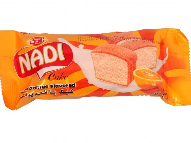 کیک روغنی با طعم پرتقال 60 گرمی نادی