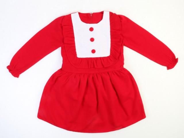 پیراهن دخترانه به رنگ قرمز