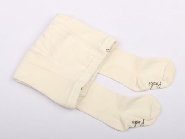 جوراب شلواری شیری (12-6 سال)