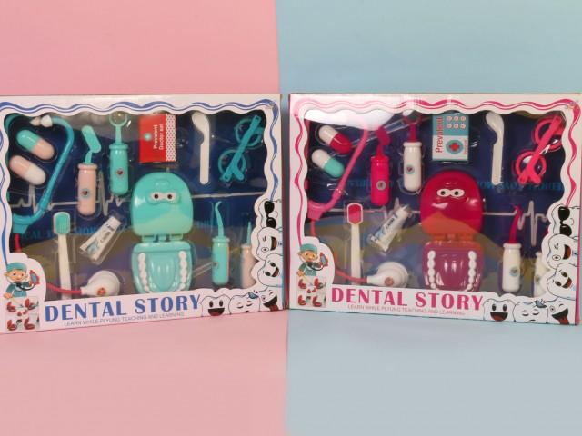 ست دندان پزشکی dental story