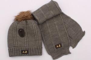 کلاه و شال گردن بافت (6-3 سال)