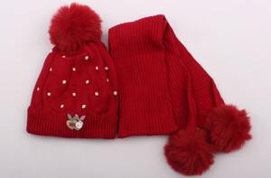 کلاه و شال گردن تو کرک (6-3 سال)