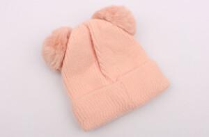 کلاه بافت پوم پوم (2-1 سال)