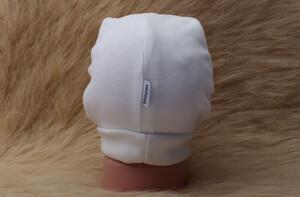 کلاه لبه دوبل نوزادی (دارای رنگبندی)