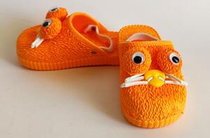 دمپایی جلوبسته پنگول ( نارنجی)