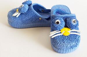 دمپایی جلوبسته پنگول ( آبی)