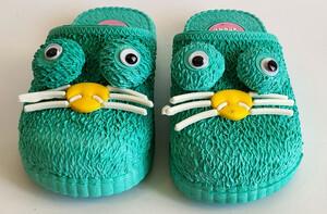 دمپایی جلوبسته پنگول ( سبز آبی)