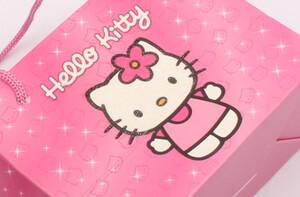 ساک هدیه Hello kitty (سایز کوچک)