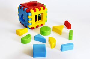 مکعب سازه چین هندسی