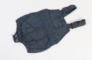 شلوار پیشبندی جین H&K