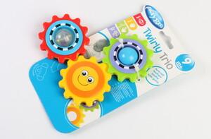 دندانگیر جغجغه ای خورشیدی play gro