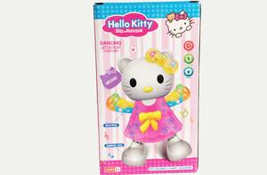 عروسک کیتی آواز خوان و رقصندهhello kitty