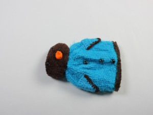 کلاه نوزادی پنگوئن