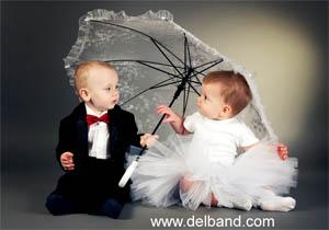 پسر کوچولوها چه لباسی در مراسم عروسی بپوشند