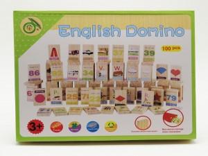 دومینوی چوبی ریاضی و انگلیسی