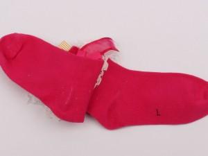 جوراب لب گیپور(7-6 سال)