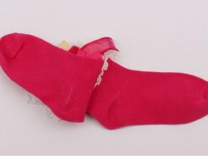 جوراب لب گیپور(5-4 سال)
