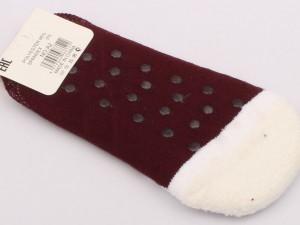 جوراب حوله ای استپ دار (9-7 سال)