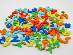 فومی  مگنتی حروف الفبا و اعداد فارسی
