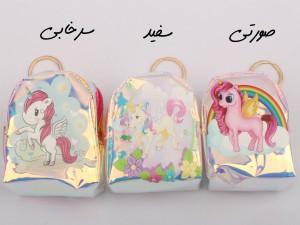 کیف پول اسب تک شاخ (دارای رنگبندی)