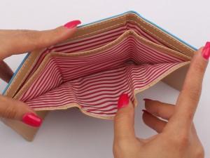کیف پول هولوگرامی (دارای رنگبندی)