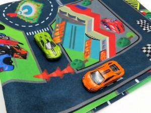 فرش ماشین بازی
