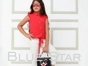 شومیز blue star