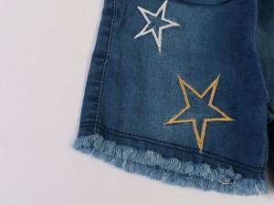 تاپ و شلوارک blue star