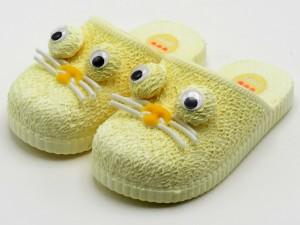 دمپایی جلوبسته پنگول ( زرد)