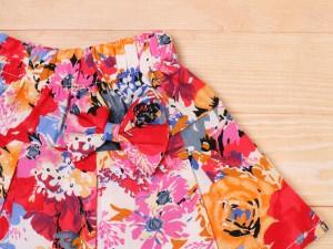 پیراهن و دامن گلدار