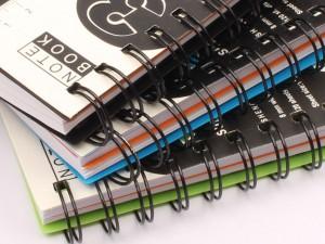 دفترچه یادداشت سیمی A6
