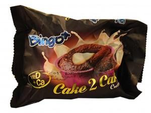 کیک روغنی ردولوت براونی با مغزی شیری 60 گرمی بینگو