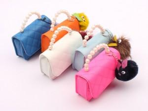 کیف عروسکی دسته مرواریدی (دوکاره)