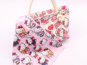 کیف دسته کنفی کیتی Hello Kitty