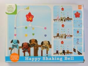 آویز تخت موزیکال happy shaking bell