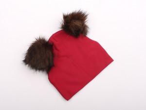 کلاه پوم پوم مرواریدی (12-6 ماه)