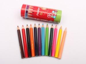 مداد رنگی 12 رنگ لوله ای کوتاه Panter