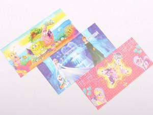 پاکت پول کارتونی (3 عددی/دارای تنوع طرح بالا)
