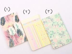 دفترچه یادداشت فانتزی (تنوع طرح و رنگ)