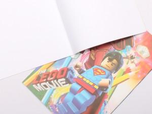 دفتر نقاشی سایز بزرگ (تنوع طرح و رنگ)