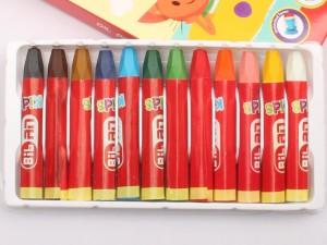 پاستل روغنی 12 رنگ