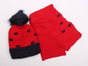 کلاه و شال گردن تو کرک (8-4 سال)