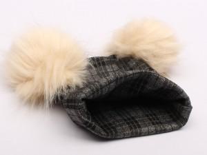 کلاه نخی چهارخانه (دارای سایز بندی)