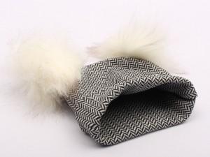 کلاه نخی زیگزاگ (دارای سایز بندی)