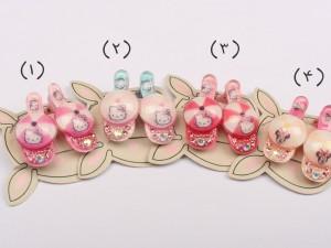 گل سر انبری (دو عددی/ تنوع طرح و رنگ)
