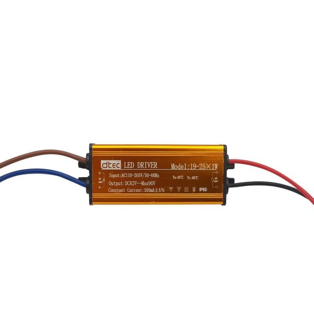 LED DRIVER 19-25x1W